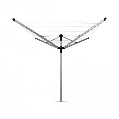 Lift-O-Matic Advance 50 metri - tubo fissaggio in plastica, capottina, portamollette Metallic Grey 100222