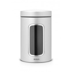Barattolo Window Canister 1.4L finestra frontale Metallic Grey 243509