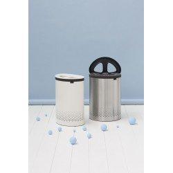 Laundry Bin Selector 55L, cop. in plastica Bianco Bianco 105005