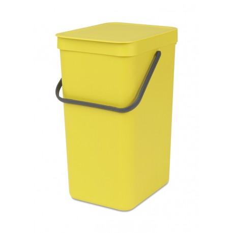 Sort & Go 16L Yellow 109867