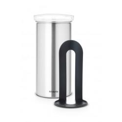 Coffee & Tea Pad Canister cop. Trasparente, anti-impronte Inox Satinato FPP 476242