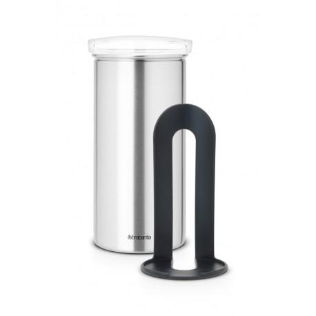 Coffee & Tea Pad Canister - cop. Trasparente, anti-impronte Inox Satinato FPP 476242