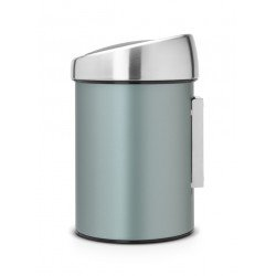 Touch Bin 3L, cop. Inox Lucido Metallic Mint 364402