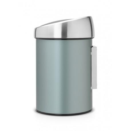 Touch Bin 3L cop. Inox Lucido Metallic Mint 364402