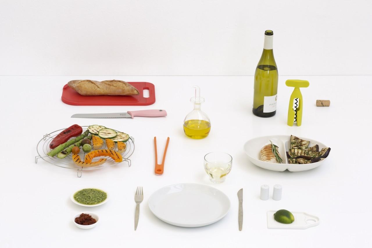 Brabantia pinza da cucina in silicone orange 108440 for Attrezzi da cucina in silicone