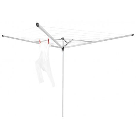 Essential 40 metri - 4 bracci, tubo fissaggio in plastica, capottina Metallic Grey 323201