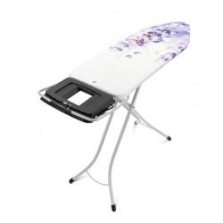 XL Comfort 124x45 - Portacaldaia Richiudibile, telaio 25mm Metallic Grey Lavender 108907