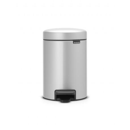 Pedal Bin New Icon 3L Metallic Grey 113260