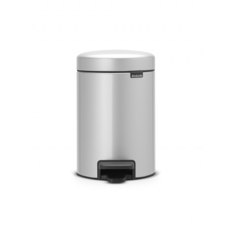 Pedal Bin New Icon 3L Metallic Grey 113260