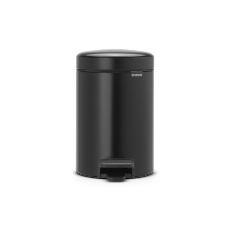 Pedal Bin New Icon 3L Nero Opaco 113321
