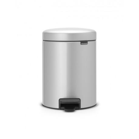 Pedal Bin New Icon 5L Metallic Grey 112904