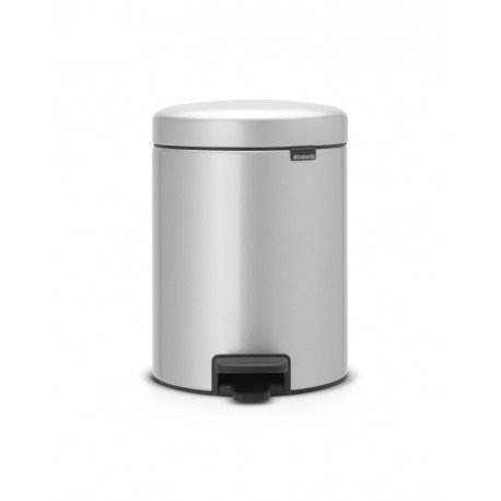 Pedal Bin New Icon 5L Metallic Grey 112904
