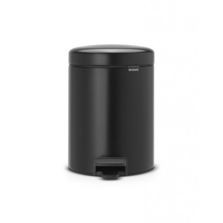 Pedal Bin New Icon 5L Nero Opaco 112928