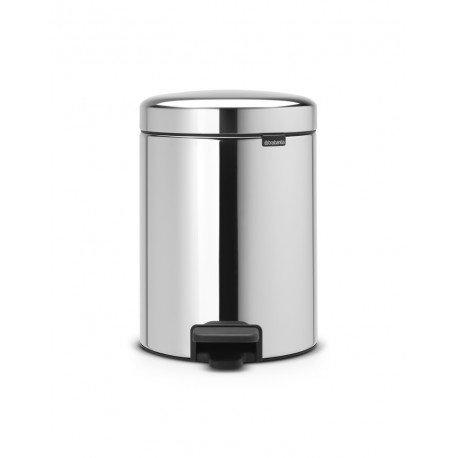 Pedal Bin New Icon 5L - secchio in metallo Inox Lucido 113444