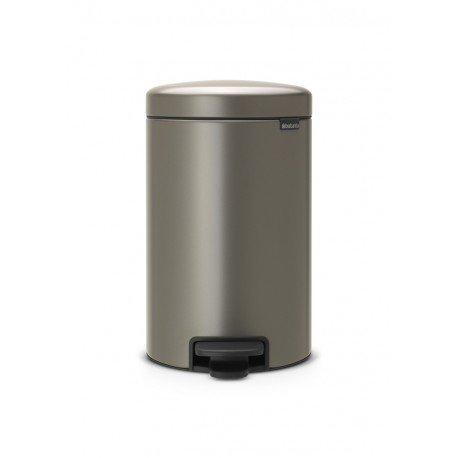 Pedal Bin New Icon 12L Platinum 113628