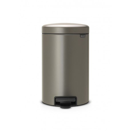 Pedal Bin New Icon 12L Platinum 113628