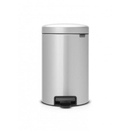 Pedal Bin New Icon 12L Metallic Grey 113680
