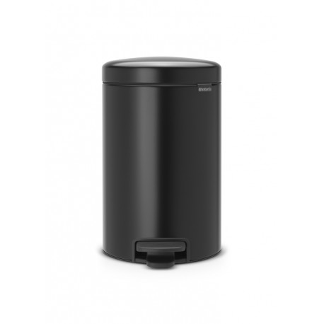 Pedal Bin New Icon 12L Nero Opaco 113741