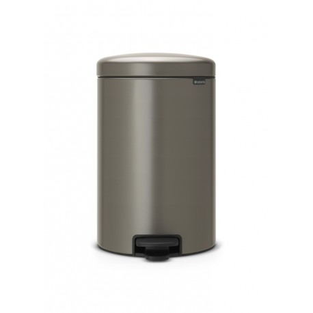 Pedal Bin New Icon 20L Platinum 114045