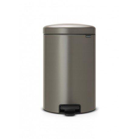 Pedal Bin New Icon 20L Platinum 114045