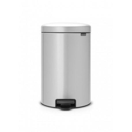 Pedal Bin New Icon 20L Metallic Grey 114069