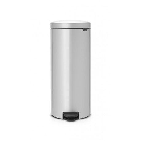 Pedal Bin New Icon 30L Metallic Grey 114465