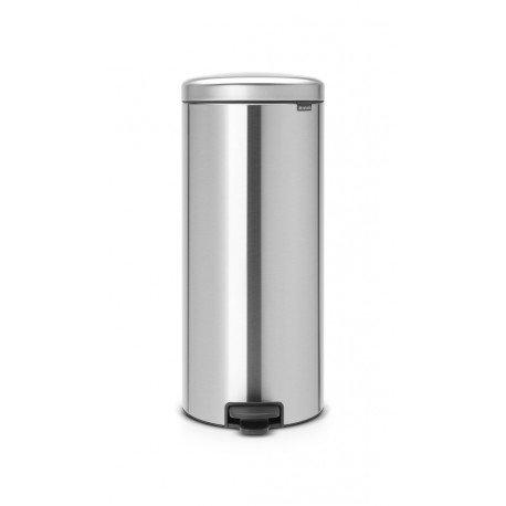 Pedal Bin New Icon 30L - secchio in metallo Matt Steel 114786