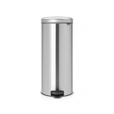 Pedal Bin New Icon 30L - secchio in metallo Matt Steel 114786