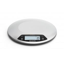Bilancia da cucina digitale 1gr/5kg, Rotonda cm. con Timer cucina Inox Satinato 480560