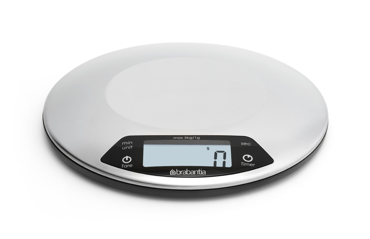 Bilancia da cucina digitale 1gr/5kg, Rotonda cm. con Timer cucina ...
