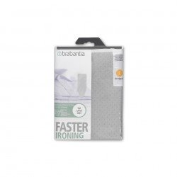 Fodera Faster Ironing, 135 x 49 cm. spugna 2 mm (riflettente calore) Metallizzato 317309