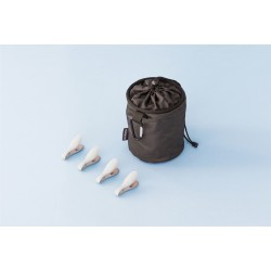 Peg Bag Premium - portamollette (Black, Blue, Mint) Assortiti 105784