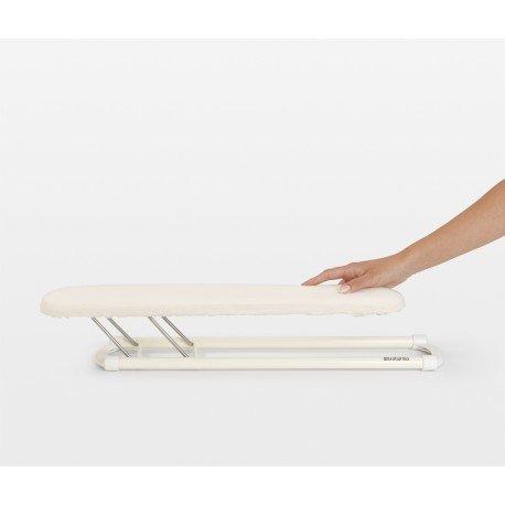 Stiramaniche 60 x 10 cm - telaio Bianco Ecru 102400