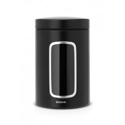 Barattolo Window Canister 1.4L finestra frontale Nero Opaco 333521