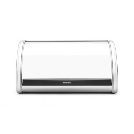 Portapane Roll Top Bread Bin Medium apertura a scomparsa Inox Lucido 339585