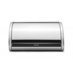 Portapane Roll Top Bread Bin Medium apertura a scomparsa Inox Satinato 348907